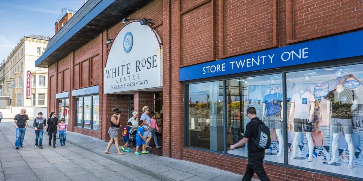 White Rose entrance