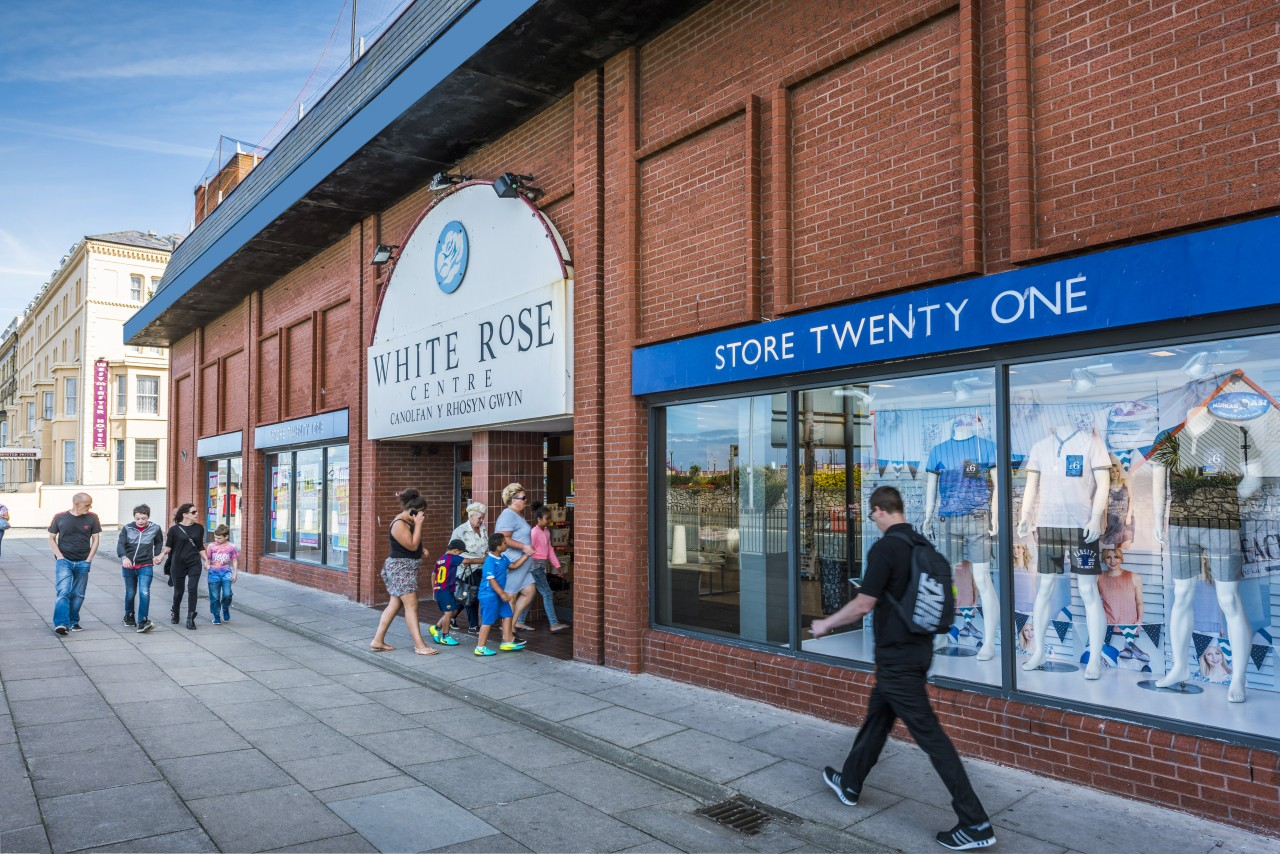 White Rose Centre Store Twenty One shop front